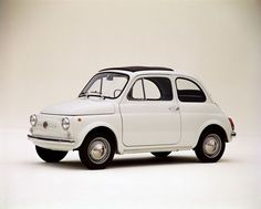 The first Fiat 500, 1957