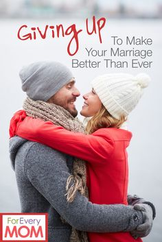 Some of the best marriage advice I've ever read. Give up these three things to make your marriage better than ever!