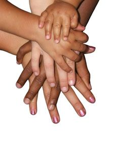 Grandparents and a mixed family- the mixed family still addresses many issues concerning tradition, culture and general discrimination/racism.