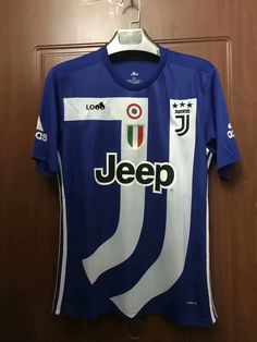 70d1e2b9f40 18 19 Thailand Quality Adult Juventus Blue Soccer Jersey Men Football Kits  Top Shirt Commemorative