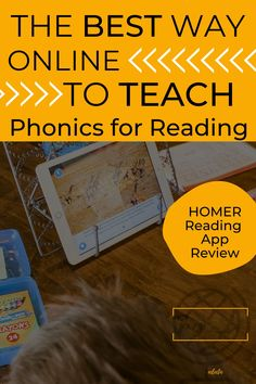 See how HOMER Reading can help you teach phonics and more in your homeschool! Super handy and affordable. #homeschool #educationalapps #reading #homeschoolapps