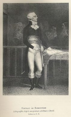 Robespierre, after a lost portrait by David?