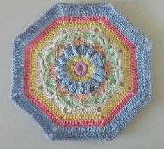 """S-J Bisley - PART 1 ♡ Carousel Blanket CAL  2016 (Sept. 13 - Nov. 15) - Created By Sue Pinner - Free Crochet Pattern - In US & UK Terms, and also in German and Dutch. PATTERN Available on Stylecraft Yarn's CAL Page. You may use the Designer's colors or your own. ***Make sure to join the Facebook Group """"Official Stylecraft Sue Pinner CAL"""" (link on the Ravelry page also) for help, ideas, support, so much more!! ... it's a great Group with wonderful people!!!"""
