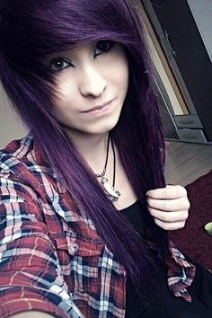 awesome I like this, her hair is really cute!... by http://www.danazhairstyles.xyz/scene-hair/i-like-this-her-hair-is-really-cute/