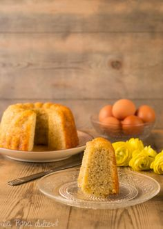 Bundt Cake de cerveza con limón y semillas de amapola