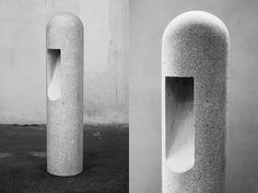 Rick Owens Concrete Lamp - concrete armatures | Betonarmaturen - beton-lamp