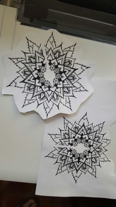 Session 2: maguey mandala sketch for elbow