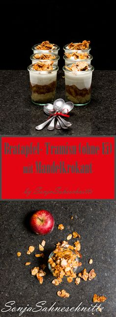 Bratapfel-Tiramisu (ohne Ei) mit Mandelkrokant | Süße Sachen selber machen | Sonjasahneschitte #SonjaSahneschnitte #SüßeSachenselbermachen #dessert #nachtisch #food #foodblogger #Bratapfel #mandeln #weihnachten #christmas #christmasrecipe #weinachtsrezept #krokant #vegetarisch #backen #baking #ohneEi #fürkinder #eggless #forkids #foodforkids