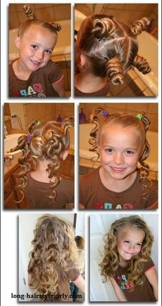 10 Easy Techniques To Loop Your Hair Naturally and Without Heat Want to have pretty curls without damaging your hair with a curling iron here are the easy techniques! We present you 10 easy and fast techniques . Curl Hair Without Heat, Curls No Heat, Sock Curls, Cute Girls Hairstyles, Girl Haircuts, Bantu Knot Hairstyles, Updo Hairstyle, Prom Hairstyles, Hairstyle Ideas