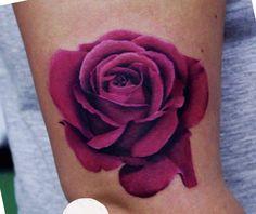 Sexy Tattoos, Small Tattoos, Tattoo Colors, Tattoo Ideas, Tattoo Designs, Summer Tattoo, Tattoo Flowers, Love Rose, Tattoo Art