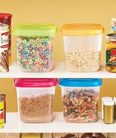 Nice! I hate having my crackers and cereal get all stale and gross :( (storage containers)