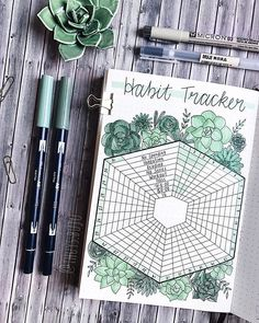 WoW, this habit tracker looks amazing! Bullet journal habit tracker