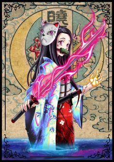 Read Kimetsu No Yaiba / Demon slayer full Manga chapters in English online! Demon Slayer, Slayer Anime, Anime Angel, Anime Demon, Kawaii Anime Girl, Anime Art Girl, Otaku, Japanese Anime Series, Anime Nerd
