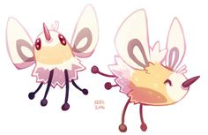 Cutiefly from Pokémon Sun and Moon