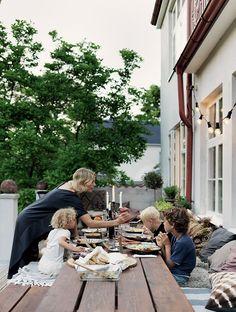 scandinavian home tour, malin persson