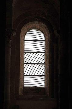 Conques vitraux Soulages