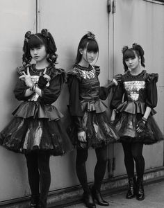 BABYMETAL Photography Piczo Babymetal wears all clothing models' own