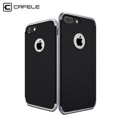 Cheap case for iphone, Buy Quality phone cases directly from China luxury phone case Suppliers: CAFELE Original Case for iPhone 7 Ultra-thin Anti-knock Back Cover Luxury Phone case for iPhone 7 plus Shockproof Armor Shell Iphone 7 Cases Luxury, Iphone 7 Plus Cases, Cool Phone Cases, Mobile Phone Cases, Shell, Buy Cell Phones, Latest Phones, Cell Phone Plans, Frame Bag