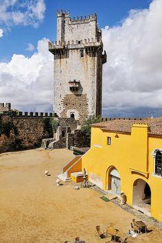 Portugalidades Beja Castle in the Alentejo District, Portugal