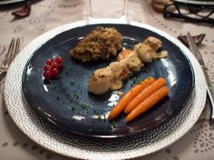 St Jaques Scallops with Foie Gras Sauce - Learn French