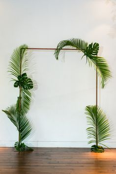 Tropical Neon Austin Wedding from Cory Ryan Photography Tropical Inspired Altar Tropical Wedding Decor, Desi Wedding Decor, Tropical Decor, Diy Wedding, Tropical Furniture, Tropical Colors, Altar Wedding, Tropical Wedding Centerpieces, Tropical Party Decorations