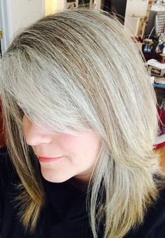 4 Reasons I'm So Glad I Stopped Coloring My Hair. No More Dye. Growing Out Gray #gray #hair #halo #white