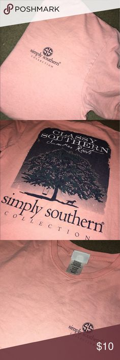 Simply shouthern shirt!! great condition!! Simply Southern Tops Tees - Short Sleeve