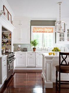 Gray & White Kitchen Combo