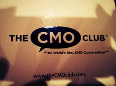 CMO CLUB Innovation Summit in NYC, April 26-27, 2012