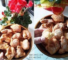 {Süße kleinigkeiten} Gebackene Apfelringe
