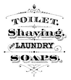 Printable Typography Soap Sign.  This is absolutely perfect for my main bathroom which also happens to be my laundry.  It would be perfect on the front of my laundry hamper.