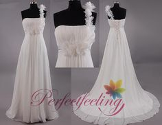 CUSTOM 2014 sexy A line long white/Ivory one by PerfectFeeling, $145.00