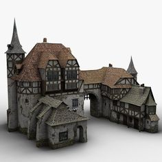 People enjoy Minecraft because of three very simple elements, property, replayability along with Fantasy Castle, Fantasy House, Medieval Fantasy, Architecture Design, Minecraft Architecture, Classical Architecture, Medieval Houses, Medieval Town, Medieval Castle