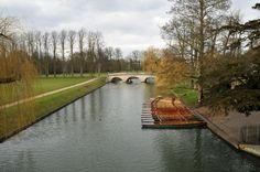 Cambridge - Punting Boat