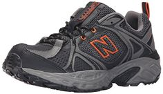New Balance Mens 481v2 Trail Running Shoe BlackOrange 10 D US *** Click image to review more details.(This is an Amazon affiliate link and I receive a commission for the sales)