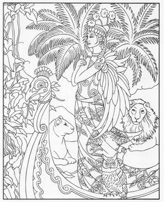 Adult Coloring Pages Books Witch Craft Fun Crafts Basic Sketching Colour Book Art Therapy Worksheets Pencil