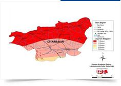 Diyarbakır Map, Location Map, Maps