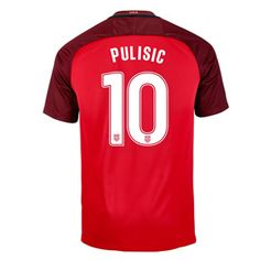 Nike Youth USA Christian Pulisic #10 Jersey (Alternate 17/18): http://www.soccerevolution.com/store/products/NIK_41084_A.php