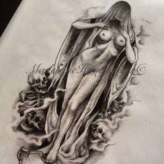 Madeleine Hoogkamer @madeleinehoogkamer Instagram photos | Websta Skull Tattoos, Body Art Tattoos, Girl Tattoos, Tattoo Sketches, Tattoo Drawings, Tattoo Art, Dibujos Tattoo, Airbrush Designs, Irish Tattoos