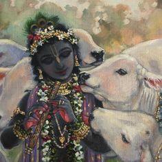 42 Ideas for art painting animals mobiles Krishna Lila, Little Krishna, Bal Krishna, Jai Shree Krishna, Cute Krishna, Radha Krishna Love, Radhe Krishna, Hanuman, Krishna Drawing