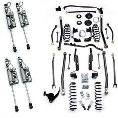 "TeraFlex 6"" Elite LCG Long Arm Suspension Lift Kit with SpeedBumps and Fox Racing Shocks"