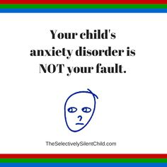 Your child's anxiety disorder is not your fault. Anxiety Disorder Symptoms, Anxiety Attacks Symptoms, Anxiety Treatment, Anxiety In Children, Take Care Of Yourself, Disorders, Your Child, Depression