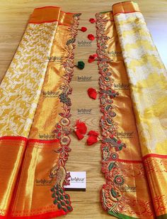 Latest Saree Kuchu/Tassel Designs to Beautify Your Saree - Embroidery tassels -