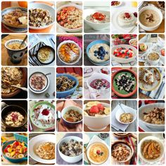 30 Oatmeal Recipes. I eat 100% whole grain oats every morning, and I'm always looking for ways to spice it up!