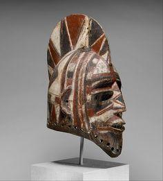 Helmet Mask (Bolo), 19th–20th century. The Metropolitan Museum of Art, New York. The Michael C. Rockefeller Memorial Collection, Bequest of Nelson A. Rockefeller, 1979 (1979.206.157) #halloween #costume