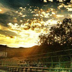 Sunset in Pocatello, Idaho