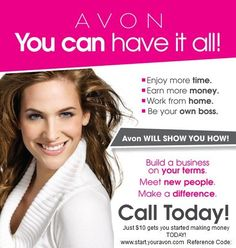 use reference, code arichard1. See how you can unlock your potential.  Email me with your questions, arichard1avon@yahoo.com