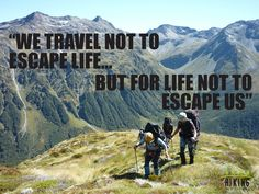 Inspirational Travel and Walking Quotes | Hiking New Zealand