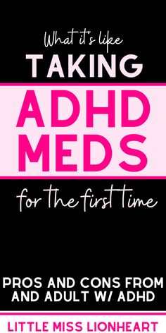 If you are considering how you want to treat your ADHD symptoms and you've wondered whether meds are worth it or not, this article will help you answer that question. Here's what it's been like for me--Good and Bad--taking stimulant medication as an Adult with ADHD. #ADHDwomen #adultADHD #ADHDadult #ADHDinwomen Causes Of Adhd, Adhd Symptoms, Adhd Facts, Adhd Medication, Adult Adhd, Medical Information, What Is Like, Helping Others, Need To Know