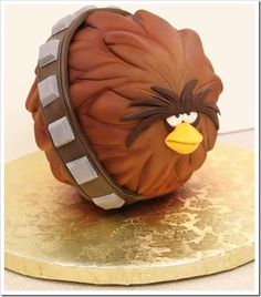 Angry Birds Star Wars Cake  not a cupcake but really cool